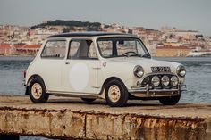 The 1963 Mini Cooper S Shows off Its Racing Pedigree: This winning race car was previously owned by Maria Graça Moura Relvas. Classic Mini, Classic Cars, Classic Auto, Mini Copper, Mini Countryman, Good Old Times, Car And Driver, Mini Me, Clothes Horse