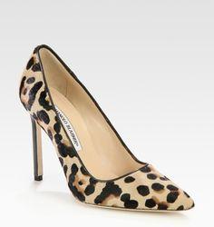 Shop Women's Manolo Blahnik Stilettos and high heels on Lyst. Track over 641 Manolo Blahnik Stilettos and high heels for stock and sale updates. Pointed Toe Pumps, Stiletto Heels, Stilettos, High End Shoes, High Heels, Leopard Pumps, Manolo Blahnik Heels, Pony Hair, Shoe Brands