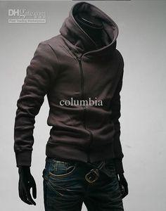 Wholesale HOT Brand New Diagonal zipper Men's Hoodies amp; Sweatshirts Jacket Coat Size M,L,XL,XXL,XXXL, Free shipping, $15.34/Piece | DHgate