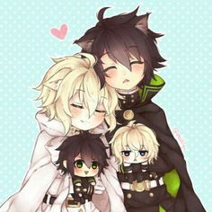 Mika and yuu yaoi owari no seraph / seraph of the end Mikayuu