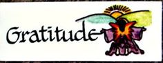 Angel Card - Gratitude