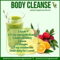 7 Day Body Cleanse Drink