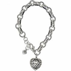 Brighton Bibi Heart Bracelet, also getting this w/mileage points from United!