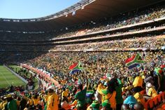 FNB Stadium/Soccer City - Visit The Province Built On Gold #southafrica #travel
