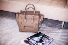 """Hey Fashion Lovers ("""",) Meet my new bag crush.the Celine structured leather Boston bag. I have been coveting this bag for awhile now wh. Celine Tote, Celine Handbags, Celine Luggage, Handbags 2014, Hermes Birkin, Louis Vuitton, Boston Bag, Best Bags, Beautiful Bags"""