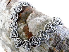 Chainmaille Bracelet Angel Byzantine от ChainmailleByBim на Etsy                                                                                                                                                      More