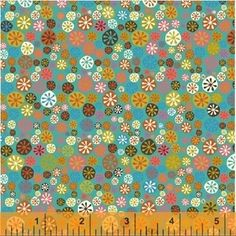 Jan Avellana - A Nod to Mod - Happy Buttons in Teal