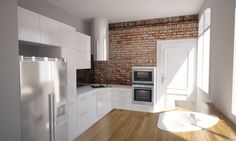 Modern kitchen in Paris Kitchen Island, Interior Design Projects, Interior, Home, Simply Home, Kitchen Cabinets, Cabinet, Modern Kitchen, Kitchen