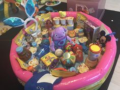 Baby easter basket idea for our 7 month old granddaughter comes kings 1st easter gift baskets ideas pool boy babies first easter negle Gallery