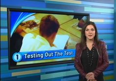 Watch today's segment on Common Core testing: www.channelone.com/daily-show/ Discussion Prompt:How do you think the Common Core Standards will affect education in the long-term? www.channelone.com/curriculum  #news #activities #curriculumactivities #teachingresources #education #lessonplan #testing #commoncore #discussionprompt