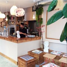 """""""This Thai """"bistro"""" is a must in the area. Coffee Places, Paris Restaurants, Eat To Live, Future House, Kitchen, Journal, Home Decor, Asian, Home"""