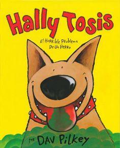 Érase una vez un perro llamado Hally que vivía con la familia Tosis.  Hally Tosis era un perro estupendo, aunque tenía un grave problema: tenía un aliento espantoso... Pero una noche ese aliento espantoso sirvió de mucho al tumbar a unos ladrones, y desde ese momento Hally se convirtió en el héroe de la familia.
