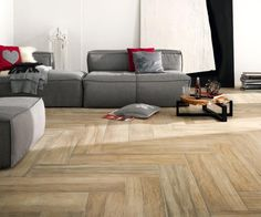 For our bathroom and kitchen Up for debate: hardwood floors v. tiles that look like wood Real Wood Floors, Wood Tile Floors, Wood Look Tile, Wood Grain Tile, Buy Tile, Hardwood Tile, Ceramic Floor Tiles, Ceramic Flooring, Luxury Vinyl Flooring