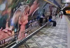 #AmbientMarketing, Los locos años 20 en el Metro de Madrid, El Gran Gatsby