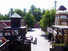 Six Flags Great Escape in Lake George NY 2010