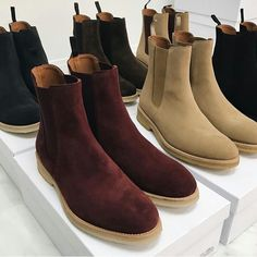 Chelsea Boots Outfit, Black Leather Chelsea Boots, Official Shoes, Gentleman Shoes, Look Man, Mens Boots Fashion, Casual Boots, Kanye West, Chapo