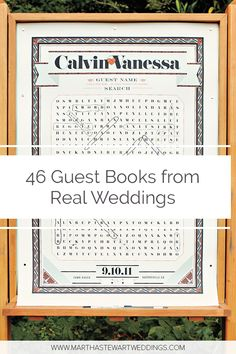115 Best Wedding Guest Book Ideas images | Wedding guest book ...