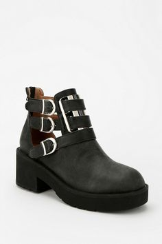 Jeffrey Campbell Clarkson Cutout Ankle Boot #urbanoutfitters