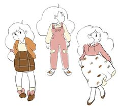 Bee and Puppycat drawing from the creator herself, Natasha. 2