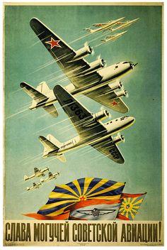 Glory to the Mighty Soviet Aviation, 1951