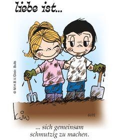 """Seit 1974 druckt BILD """"Liebe ist…"""". Jetzt gibt's den Kult-Cartoon auch auf BILD.de! Ein Gruß, der von Herzen kommt. http://www.bild.de/-39571382"""