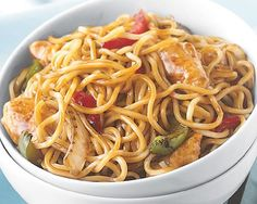 Chicken Lo Mein Skillet Meal