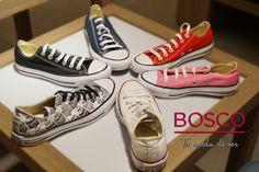 Zapatito blanco, zapatito azul, dime cuál de todos estos modelos te gusta más.  ¡Somos tu #moda de ser!