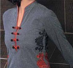 Indian Collar Neck Designs For Kurti