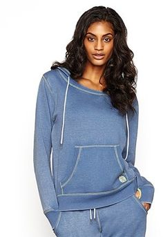 Womens light blue grey hoodi from Lipsy - £35 at ClothingByColour.com