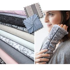 "Moodboard ""Eleganz"" #acufactum #moodboard #eleganz #farben #color #schwarz #black #grau #grey #rosa #beige #geradlinig #weiblich #erwachsen #elegance #female #edel #nobel"