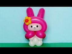 Кролик My Melody из шаров / Rabbit of balloons (Subtitles) - YouTube