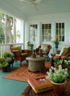 Pinspiration: 25 Beautiful Porch & Patio Design Looks - Style Estate -