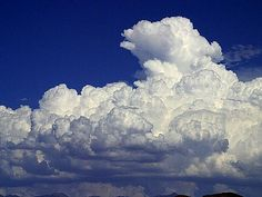 Towering Cumulus Clouds.  I would NOT want to be anywhere near these clouds.  The updrafts and downdrafts inside could tear any airplane apart.
