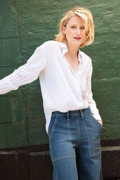 Mamie Gummer appears in October Vogue discussing her glamorous new period drama…