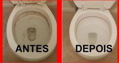 Aprenda como limpar vaso sanitário com 2 produtos que você tem na sua casa. A Marlene fez e ficou limpinho. Clique aqui para ver o que aconteceu.