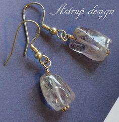 Small Earrings – Beautiful light purple amethyst earrings. – a unique product by lisaastrup on DaWanda