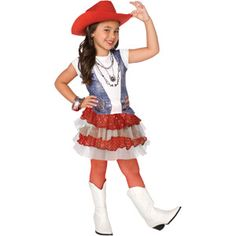 American Cowgirl Child Halloween Costume @Jessica Phelan