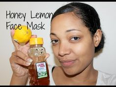Simple DIY Honey and Lemon Face Mask by YouTuber Tiffany Darlyn