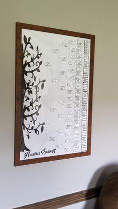 Family Tree Layout, Make A Family Tree, Family Tree Print, Family Tree Research, Family Tree Chart, Family Tree Frame, Family Trees, Diy Family Tree Project, Genealogy Organization