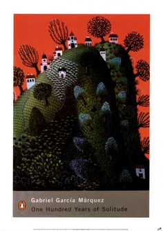 One Hundred Years of Solitude by Gabriel Garcia Marquez Book Cover Poster - 23.40x33.20