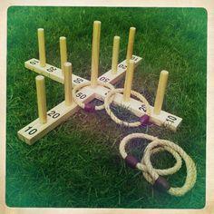 Hoopla; Vintage Lawn Games from www.somethingoldsomethingnew.org.uk