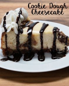 Cookie Dough Cheesecake | 51 Tasty Desserts You Should Definitely Save For Later