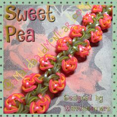 Sweet Pea deigned by Waveloomers on Instagram created by Us!!