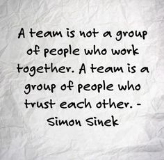 Best and Catchy Famous Trust Quotes Trust And Sayings - A team is not a group of people who work together. A team is a group of people who trust each other - Teamwork Quotes For Work, Inspirational Teamwork Quotes, Motivational Quotes For Men, Men Quotes, Leadership Quotes, Yoga Quotes, Qoutes, Famous Quotes, Leadership Skill