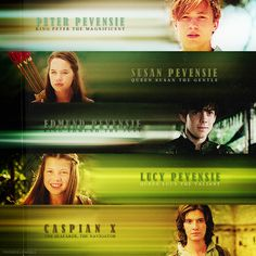 Narnia - Peter, Susan, Edmund, Lucy and Caspian