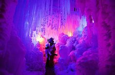 Amazing! Ice Palace in Schwarzsee.