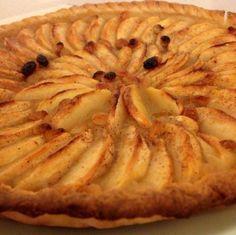Tarta de manzanas a la francesa ligera en calorías   Cocinar en casa es facilisimo.com