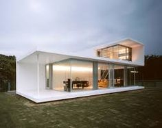 Image result for cost effective minimalist white modern beach houses
