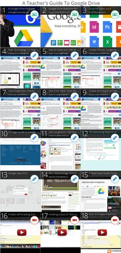 A Teacher's Guides To Google Drive For Classrooms