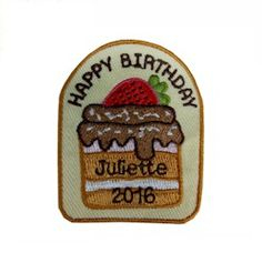 Celebrate Juliette Low's birthday in 2016 and this is the patch your troop will…